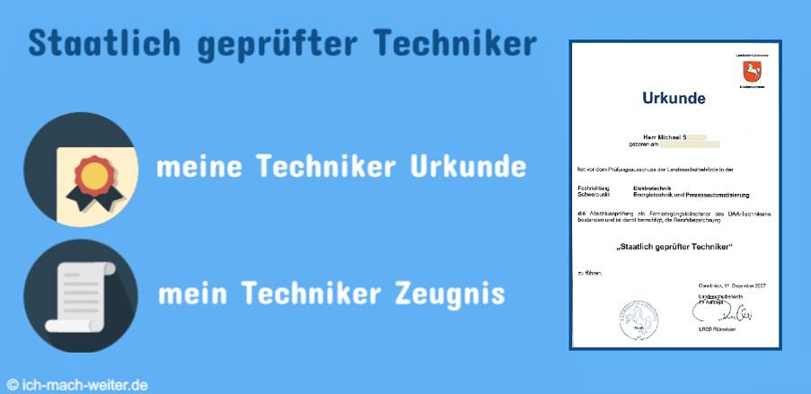 Beitrag-Logo-Techniker-Urkunde