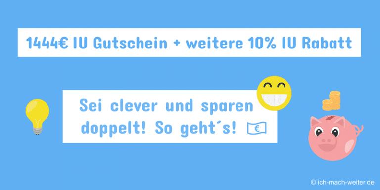 IUBH Gutschein + IUBH Freunde werben + weitere IUBH Rabatte! Coole Tipps zum Sparen für dein IUBH Studium!